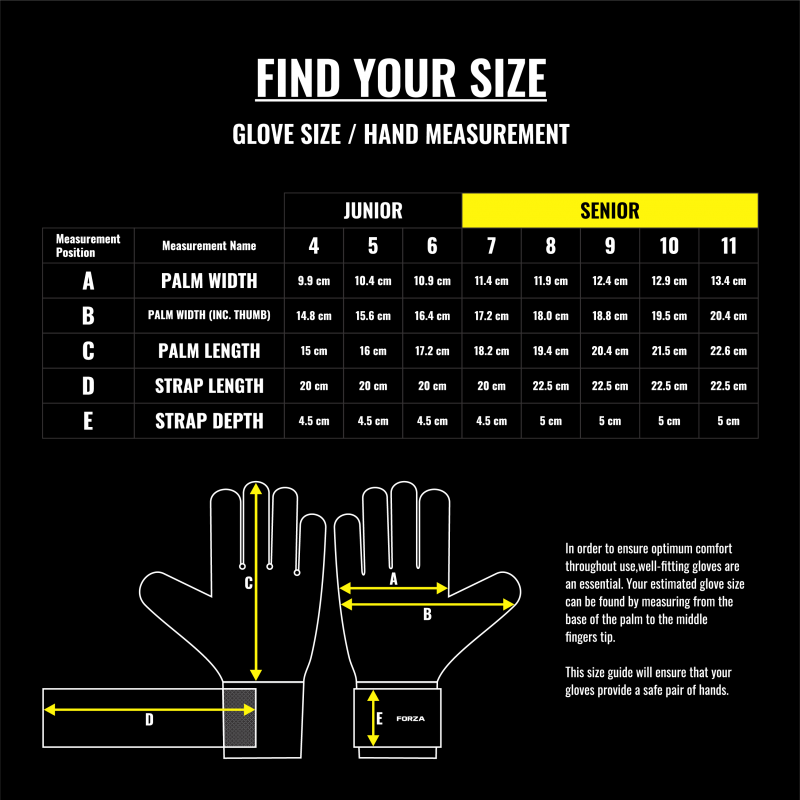 How To Find The Right Goalkeeper Glove Size