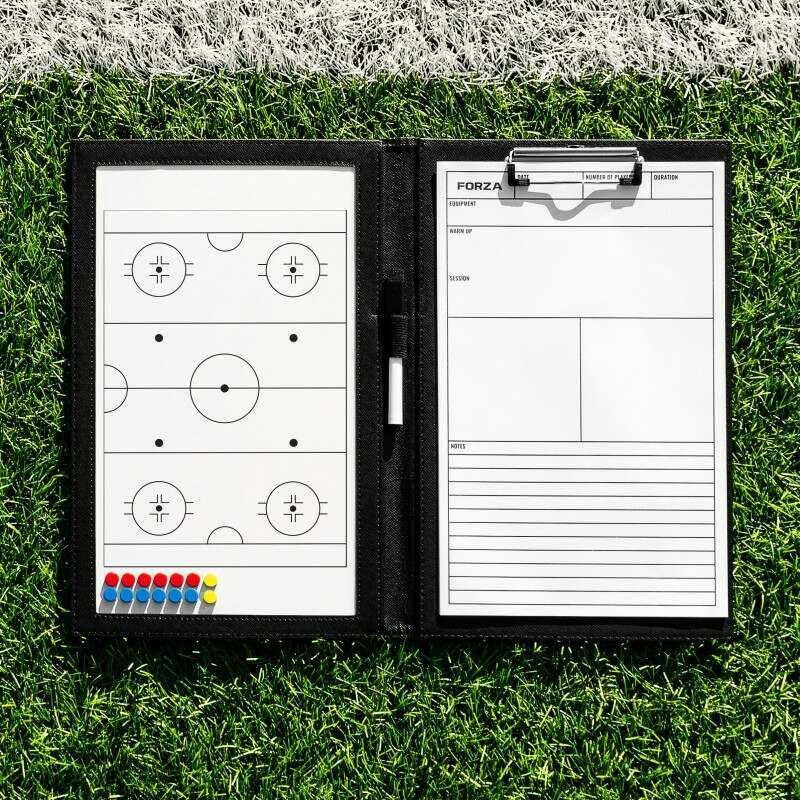 Handheld Ice Hockey Coaching Folder