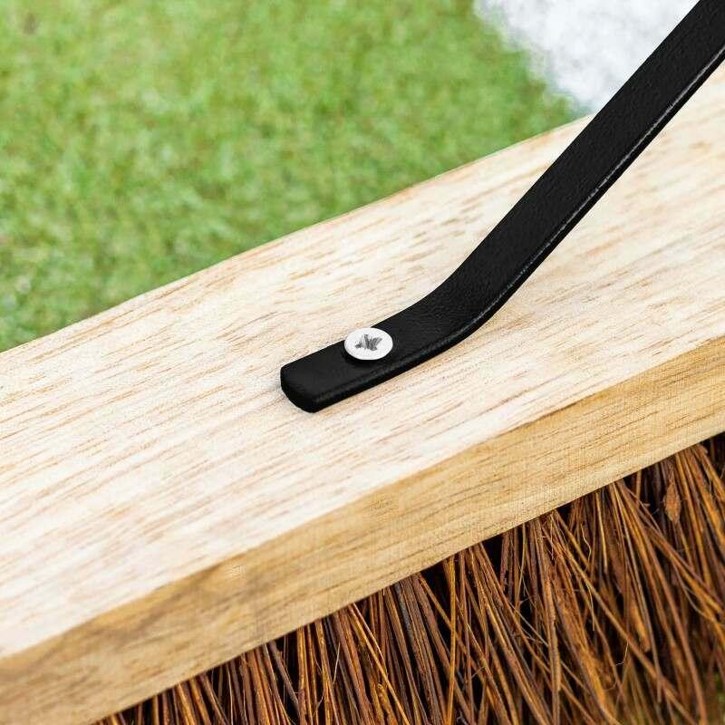 Treated Wood Tennis Court Brush   Net World Sports