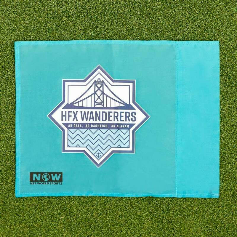 Custom Printed Corner Flags for Sport Pitches