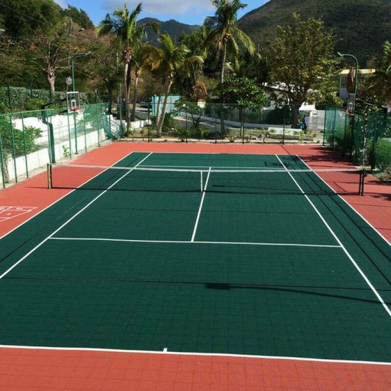 Tennis Court Modular Floor Tiles System 2