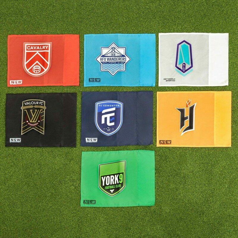 Custom Corner Flags with Printing | Net World Sports
