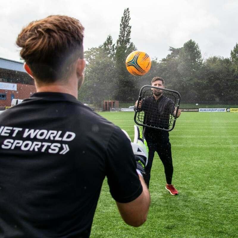 Portable Rebounder for Football