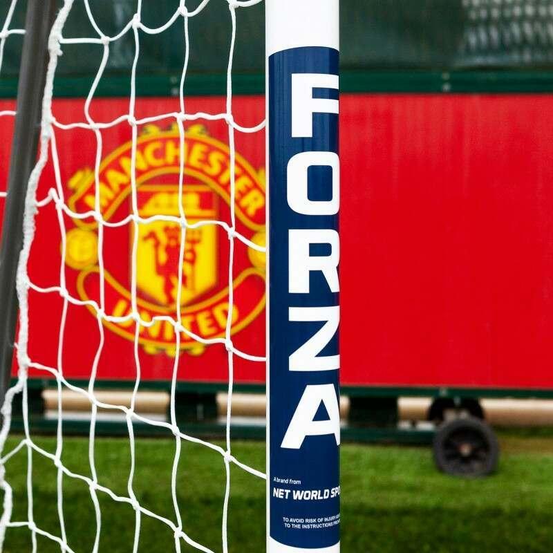 12 x 4 FORZA Alu60 Football Goal