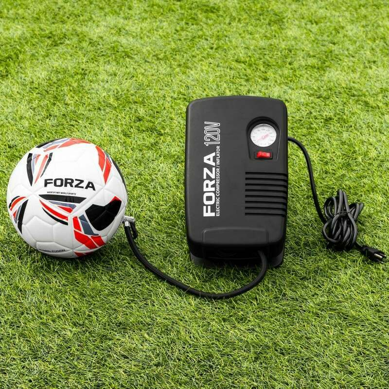 Professional Sports Baseball Football Soccer Bike Pump w// Gauge /& Hose /& Needle