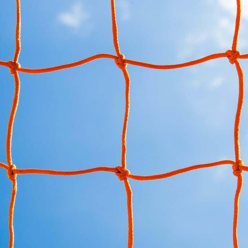 Orange Braided Football Stadium Goal Nets