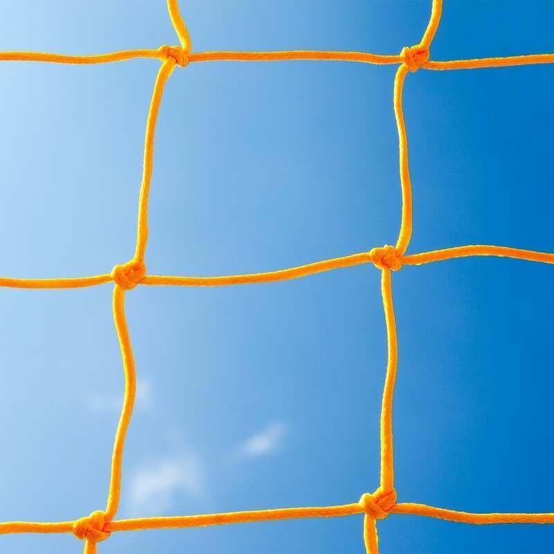 Yellow Braided Football Stadium Goal Net