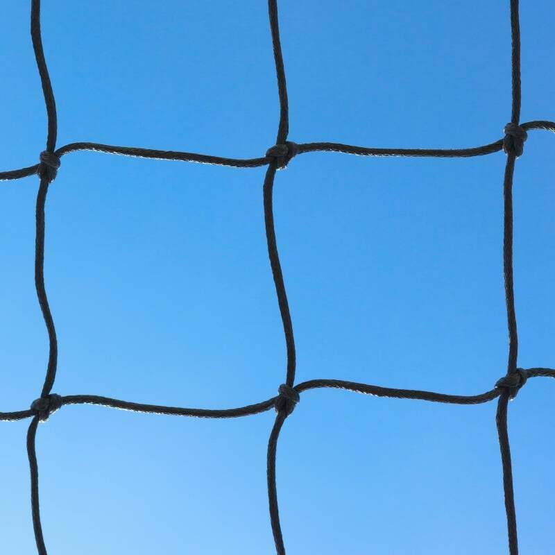 Black Braided Football Stadium/Box Nets