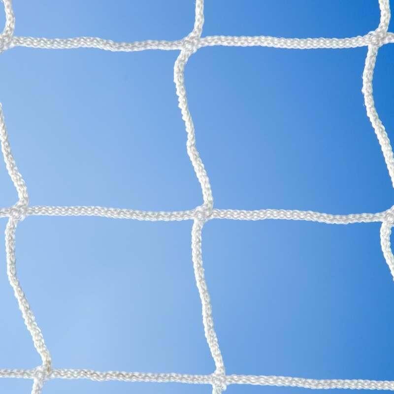 White Braided Football Stadium Goal Net