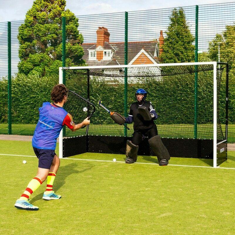 RapidFire Hockey Rebound Net | Goalkeeper Reaction Training | Net World Sports