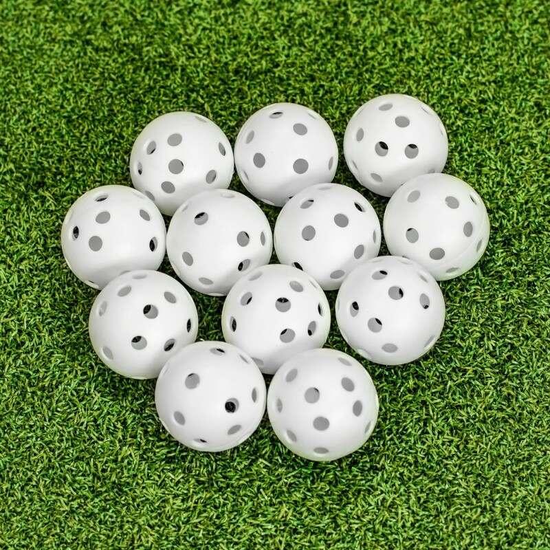 FORB Air Flow Practice Golf Balls [12 Pack]   Net World Sports