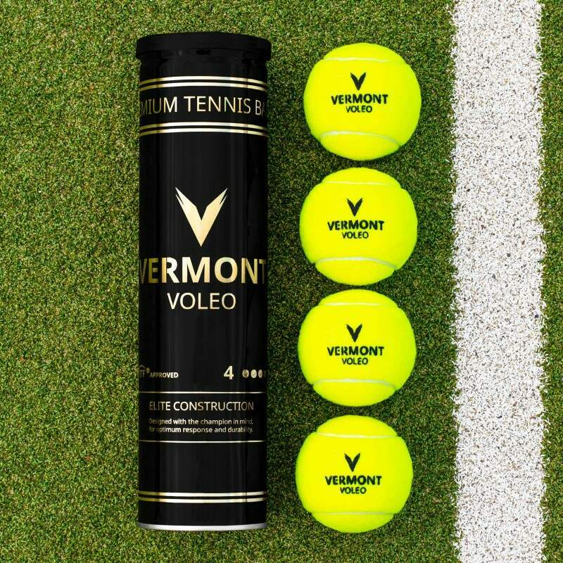 Vermont Voleo Tennis Balls | Bulk Buy Tennis Balls | Net World Sports