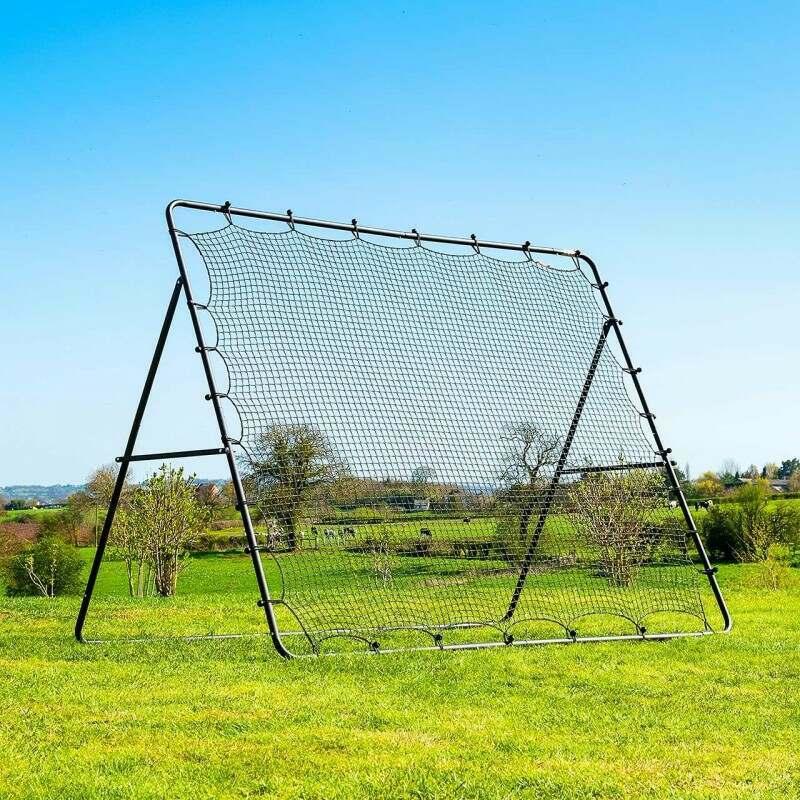 Football Jumbo Rebounder Net [2.7m x 2.2m] | Net World Sports