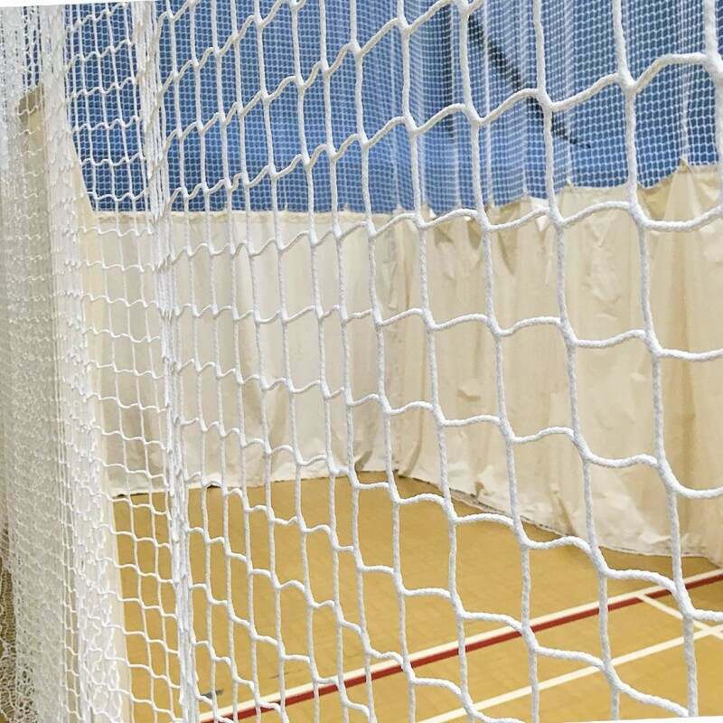 Premium White Cricket Nets