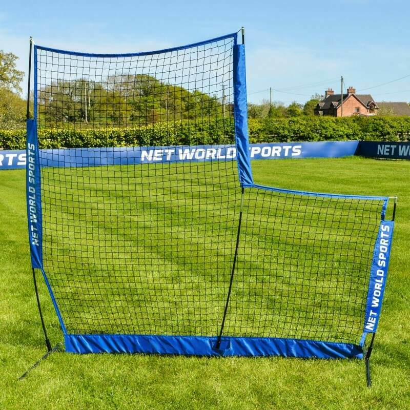 FORTRESS Cricket L-Screen Carry Bag Included Pop Up 7ft x 7ft Ball Protector Screen