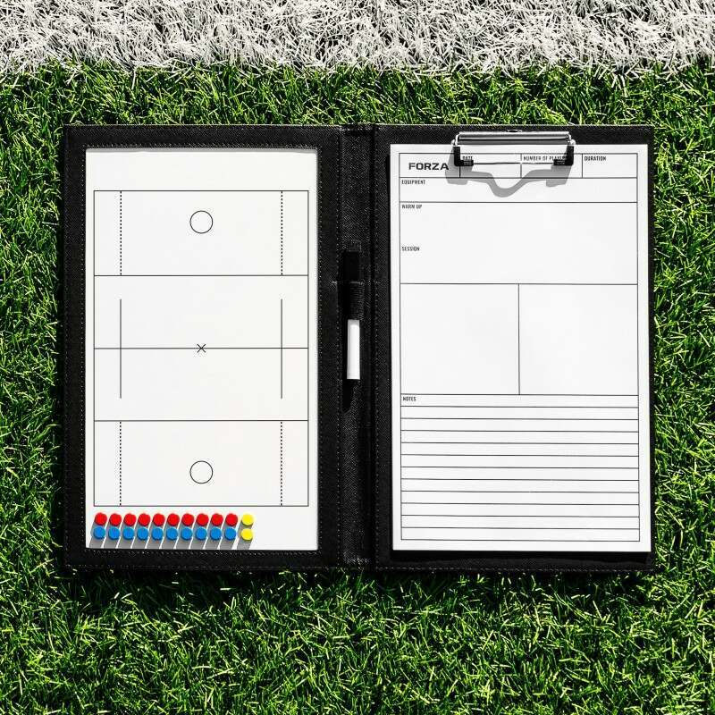 Handheld Lacrosse Coaching Folder