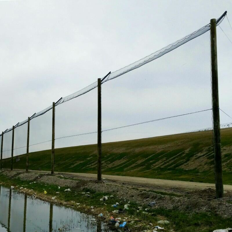 Landfill Netting | Litter Nets | Trash Netting | Net World Sports