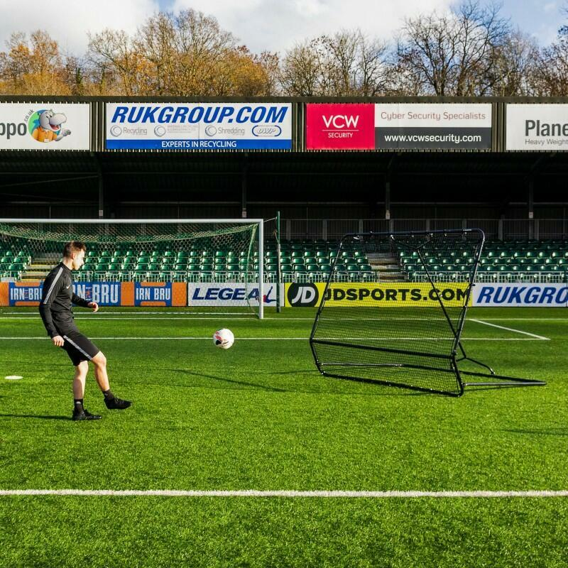 High And Low Football Rebounder