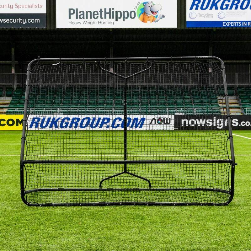 Dual-Angle Football Training Bounce Back Rebounder