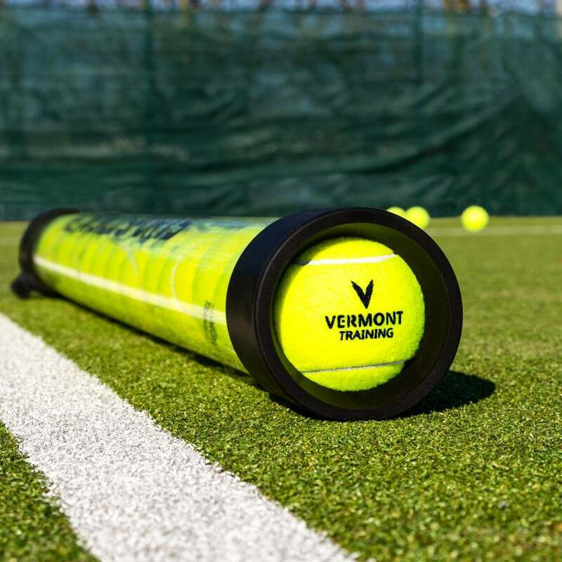 Tennis Ball Collector With Heavy Duty Rubber Locking Straps