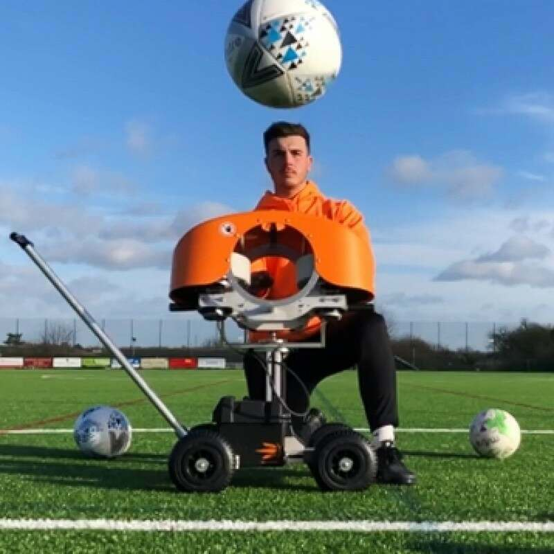 The Ball Launcher – Football Delivery Machine