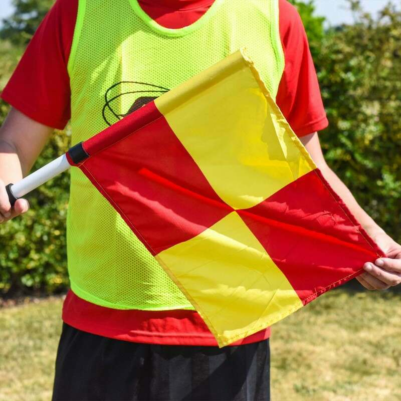 Linesman Flags with Carry Bag Included