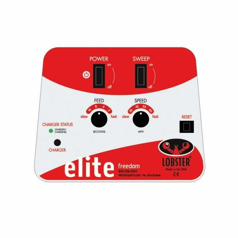 Lobster Elite Freedom Control Panel | Tennis Ball Machines | Tennis Ball Launchers | Net World Sports