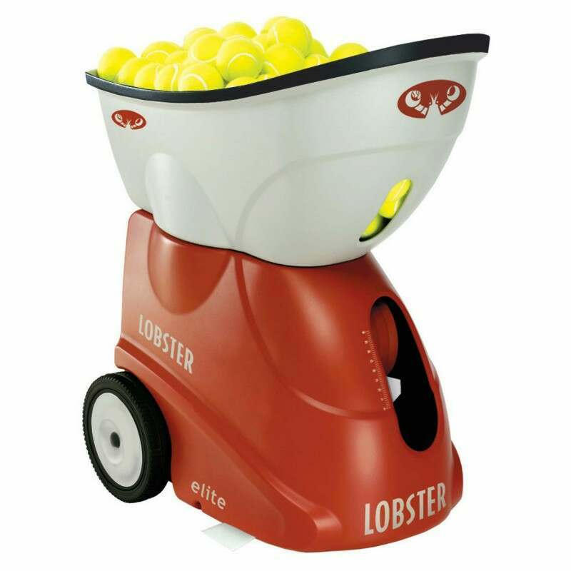 Lobster Elite 1 Tennis Ball Machines Net World Sports
