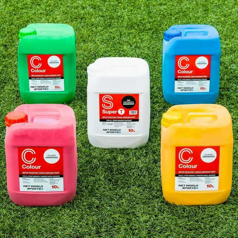 Line Marking Paint For Grass Pitches 5 Colours Available | Net World Sports