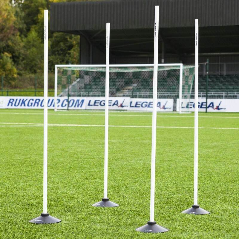 4ft Boundary Poles With Bases
