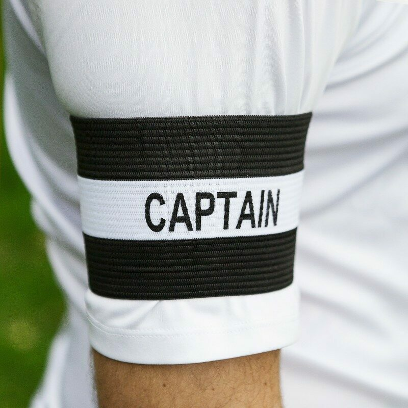 Black Captains Armband - Men's Captains Armband
