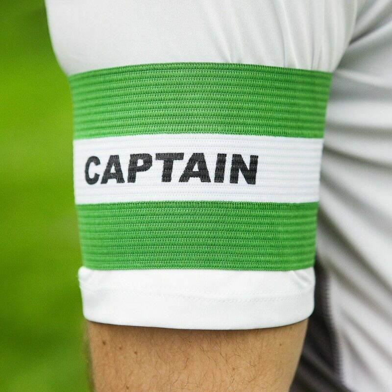 Captains Armbands in Green for Football