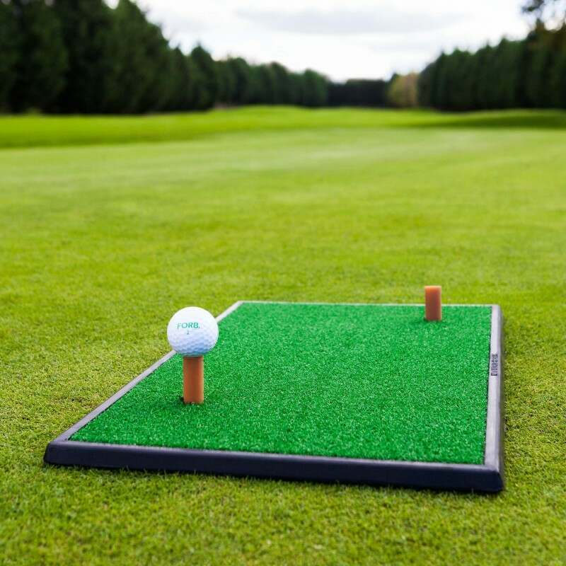 FORB Launch Pad Golf Practice Mat | Golf Hitting Mat