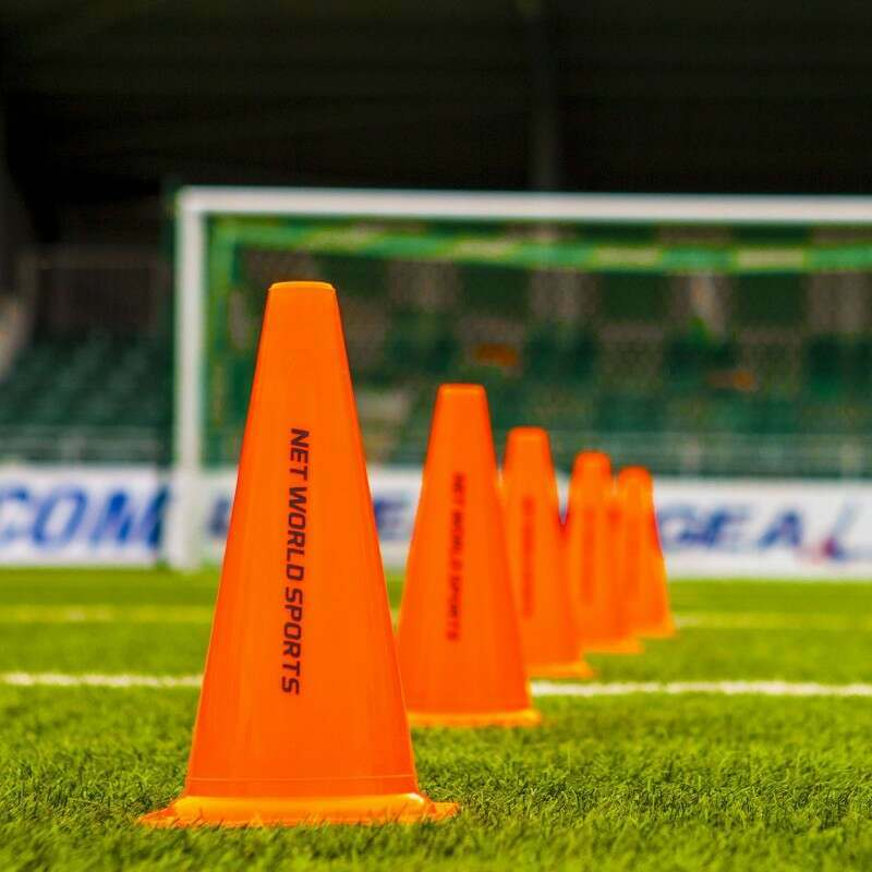 Pack of Football Training Marker Cones