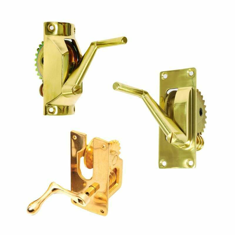 Brass Winder Mechanism For Tennis Posts | Net World Sports