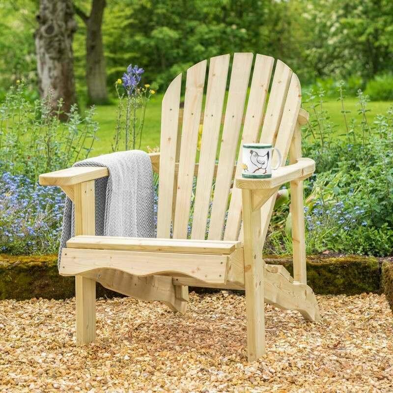 Harrier Garden Wooden Relax Chair   Net World Sports