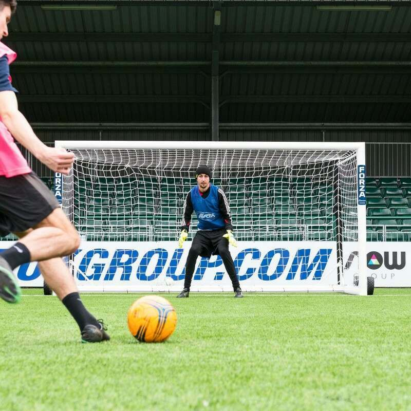 12 x 6 Stadium Box Football Goal For Mini-Soccer Matches