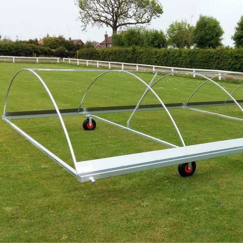 Cricket Pitch Covers With A Galvanised Steel Frame