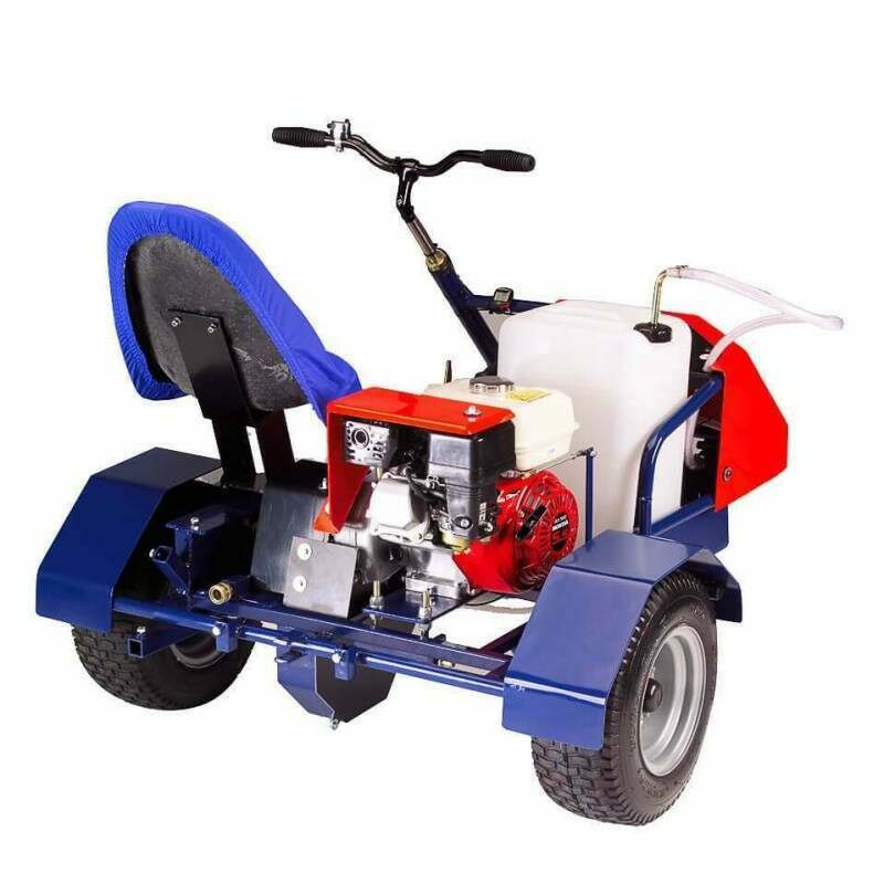 Sit On Line Marking Machine For Grass Pitch Painting