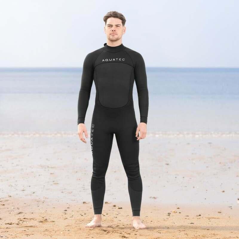 AquaTec Intermediate 3/2mm Men's Wetsuit | Net World Sports