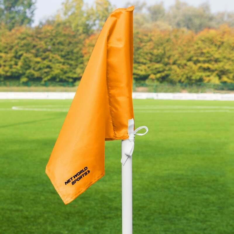 Orange Corner Flags