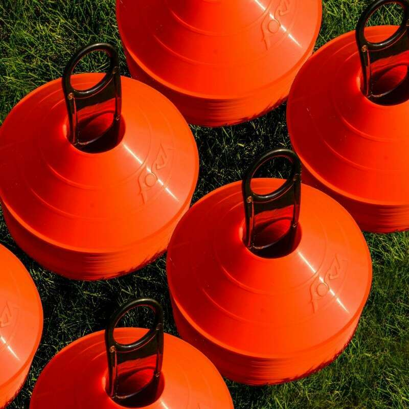 FORZA Tennis Training Marker Cones [Orange]