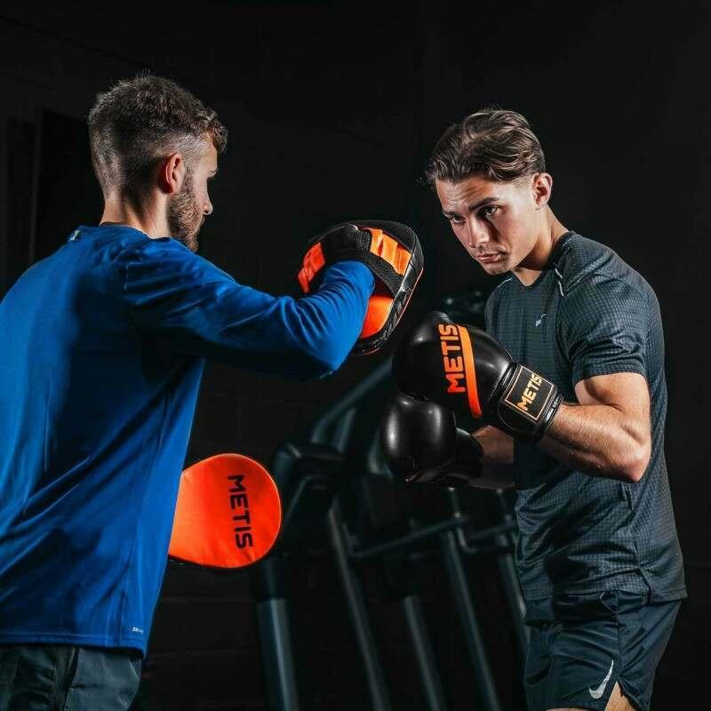 Hook /& Jab Flat Target Kids Training MMA Hand Pads Gym Boxing Mitts Focus Pad
