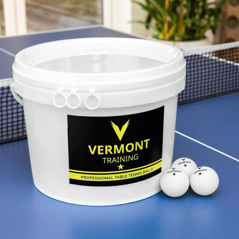 Vermont Table Tennis Balls (90 Bucket) | Net World Sports