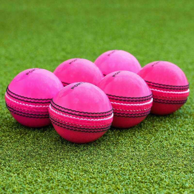 6 Pack Of Day/Night Practice Cricket Balls   Net World Sports