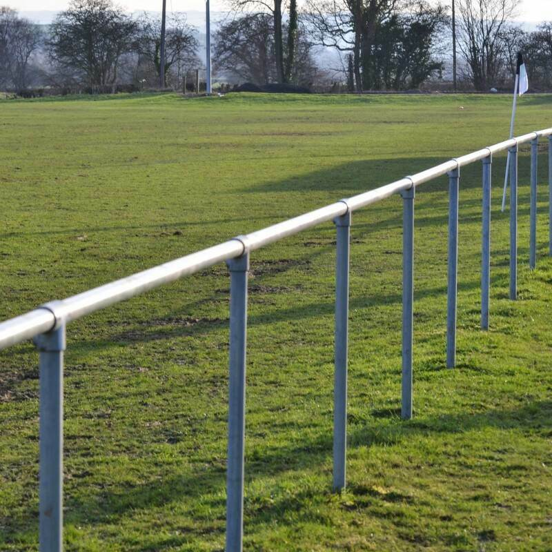 Heavy-duty Football Pitch Spectator Barrier