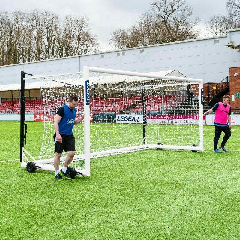Portable 16 x 7 Box Football Goal