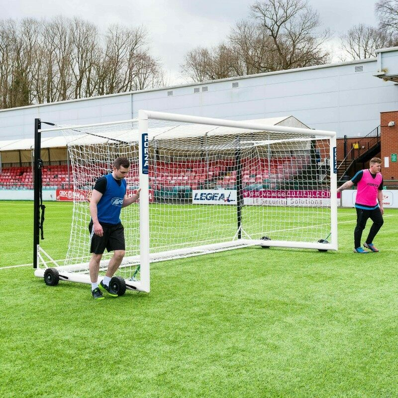 Portable 18.5 x 6.5 Stadium Box Soccer Goal