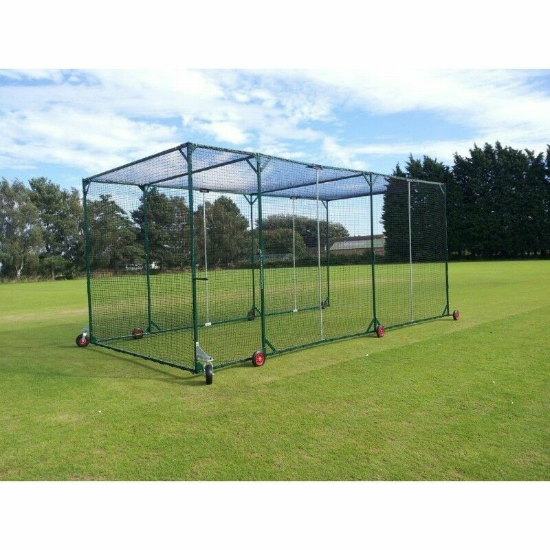 Professional Mobile Concertina Cricket Cages | Net World Sports