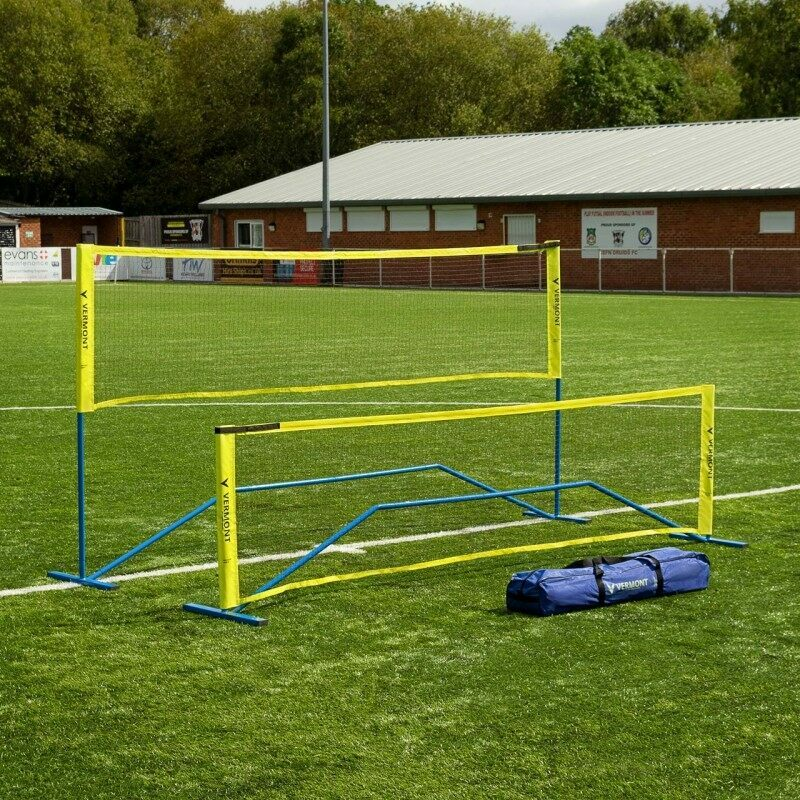 High & Low Football Tennis Net With Carry Bag Included | Net World Sports